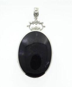 blue john pendant