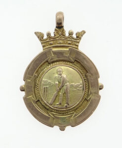 keighley cricket medal