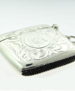 Silver Joseph Gloster Vesta Case