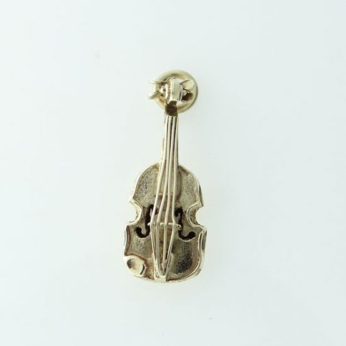 Vintage 9ct Gold Violin Charm