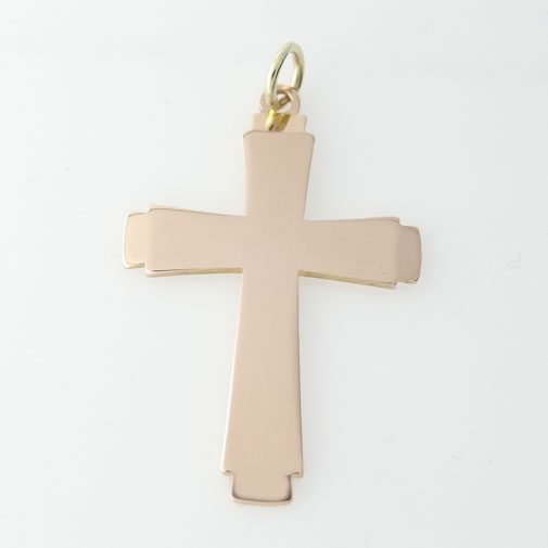 Vintage Georg Jensen Gold Cross