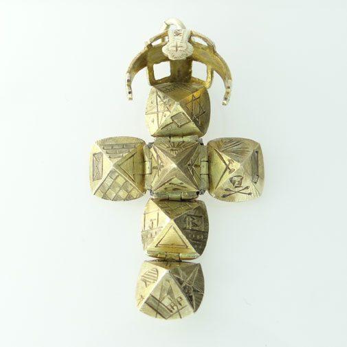 Gold Masonic Orb