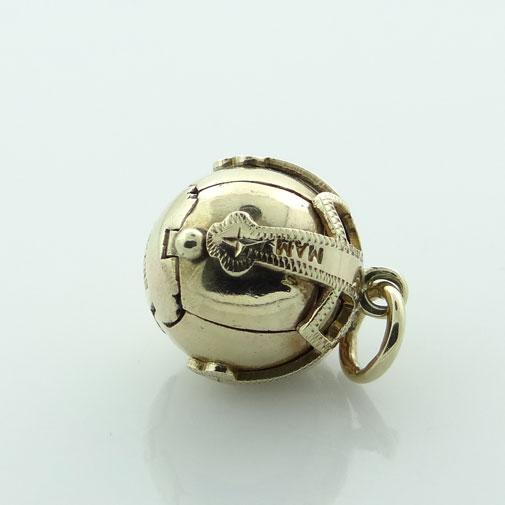 Yellow Gold Masonic Orb