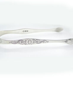 Antique Sterling Silver Sugar Tongs