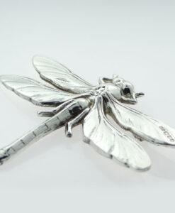 Silver Dragonfly Brooch