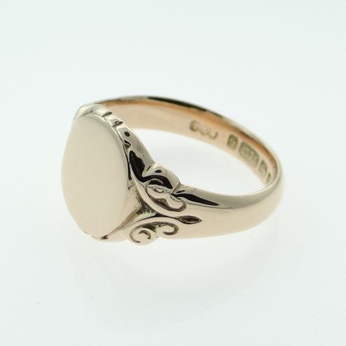Gent's Rose Gold Signet Ring