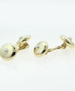 Antique Pearl Cufflinks