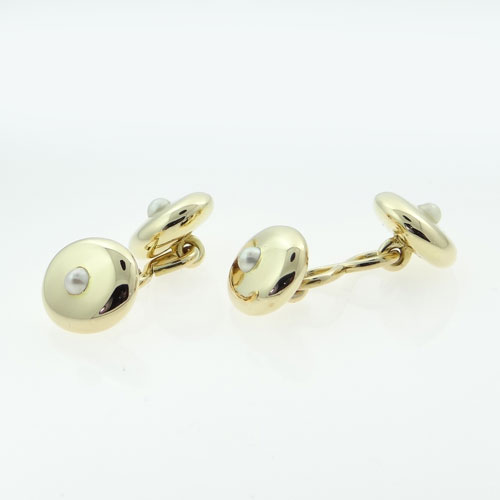 Antique Pearl Cufflinks