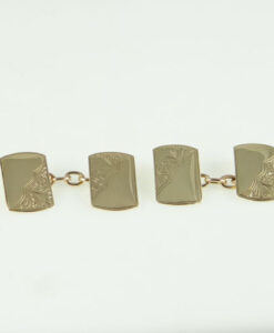 Vintage 9ct Gold Cufflinks