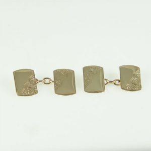 Vintage 9ct Gold Cufflinks