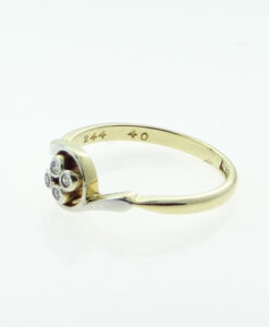 18ct Gold Four Stone Diamond Ring