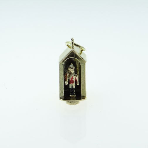 9ct Gold Royal Horse Guards Soldier Charm