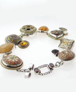 Amy Kahn Russell Silver Bracelet