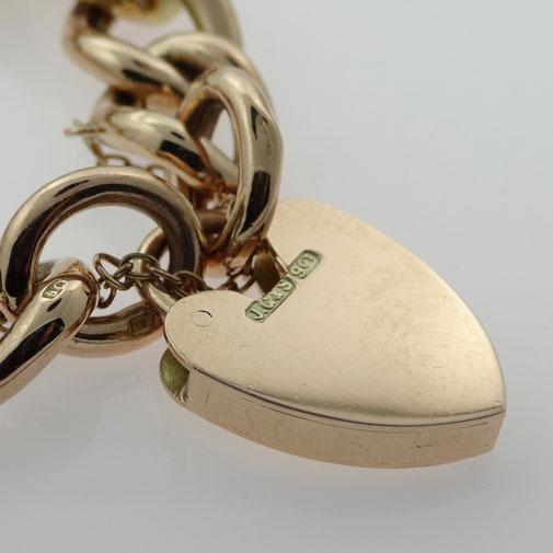 9ct Rose Gold Bracelet c1900