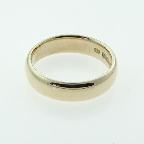 vintage rose gold wedding ring