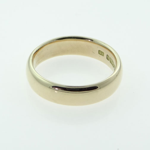 vintage rose gold wedding ring