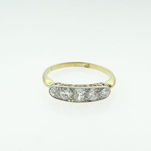 Antique Five Stone Diamond Ring