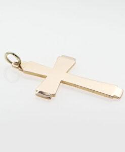 Vintage Georg Jensen Rose Gold Cross