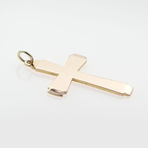 Vintage Georg Jensen Rose Gold Cross