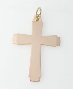 Vintage Georg Jensen Gold Cross