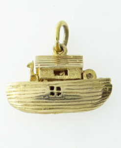 9ct Gold Noah's Ark Charm