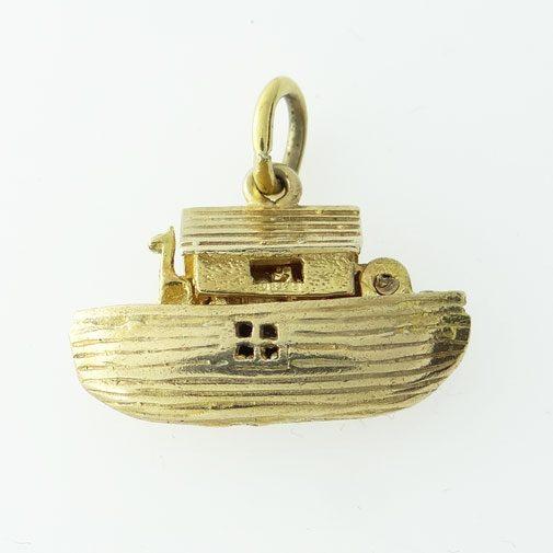 9ct Gold Noah's Ark Charm