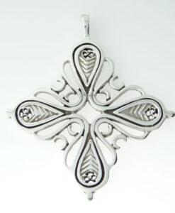 Silver Ola Gorie Pendant