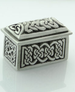 Celtic Design Rectangular Wee Box by Wee Boxes