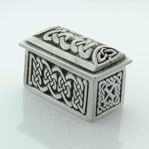 Celtic Design Rectangular Wee Box