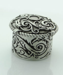 Celtic Design Round Wee Box by Wee Boxes