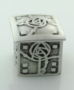 Pewter Square Mackintosh Wee Box