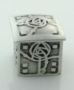 Pewter Square Mackintosh Wee Box