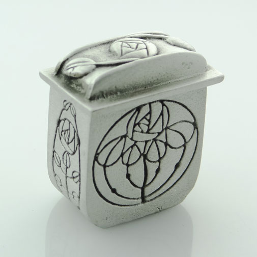 Pewter Mackintosh Wee Box by Wee Boxes
