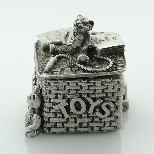 Pewter oy Box by Wee Boxes