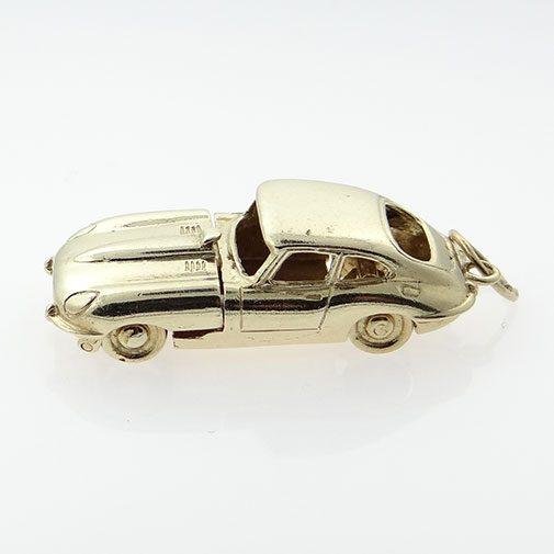 Vintage 9ct Gold E-TYPE Jaguar Car Charm