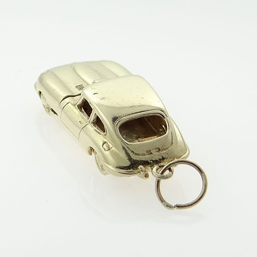 Vintage 9ct Gold Opening E-TYPE Jaguar Car Charm
