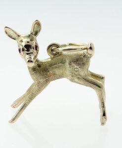 Vintage Deer Charm