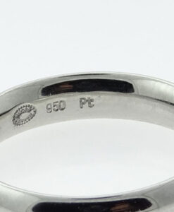 PLATINUM WEDDING BAND 4MM by GEORG JENSEN
