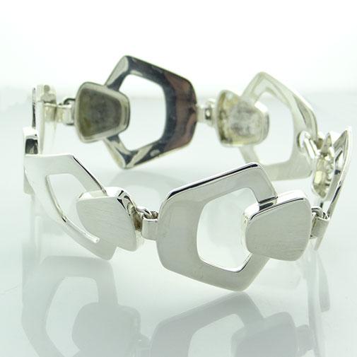 West German Sterling Silver Bracelet