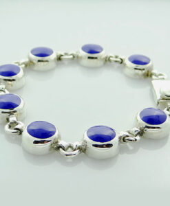 Cobalt Blue Enamel Bracelet