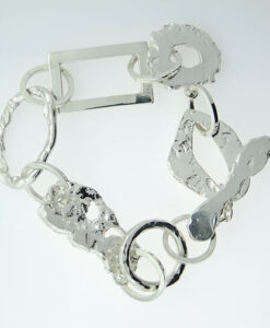 One of a Kind Sterling Silver Bracelet