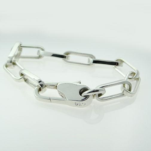 Uni-sex Silver Bracelet