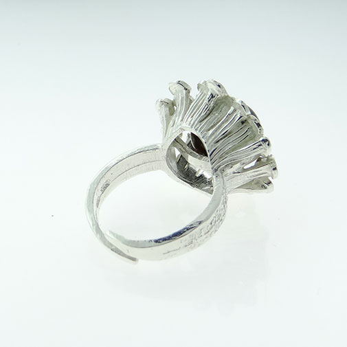 Sterling Silver Tigers Eye Ring