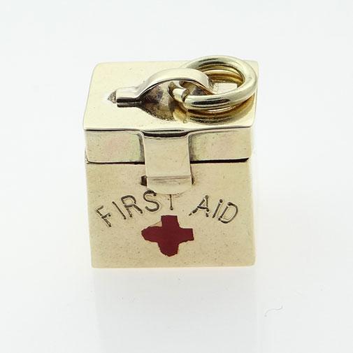 Vintage Georg Jensen First Aid Charm