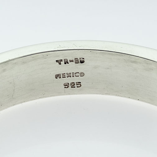 Mexico Sterling Silver Bangle