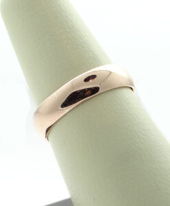 Vintage GLOGAU 9ct Rose Gold Wedding Ring