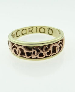 9ct Gold Cariad Clogau Band Ring