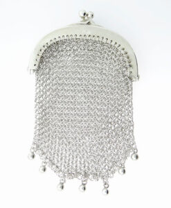 Antique Sterling Silver Chain Purse