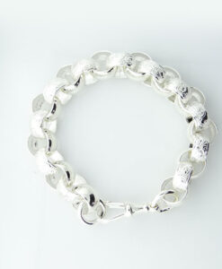 Sterling Silver Heavy Belcher Bracelet 56.5 grams