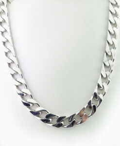 Men's Sterling Silver Curb Chain 84.5g